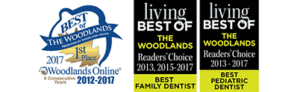 Best Family Dentist and Best Pediatric Dentist Readers' Choice Awards